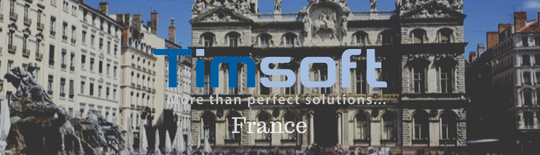 Démarrage de la filiale Timsoft France